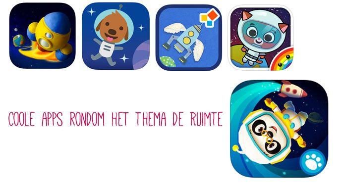 Apps rondom het thema de ruimte