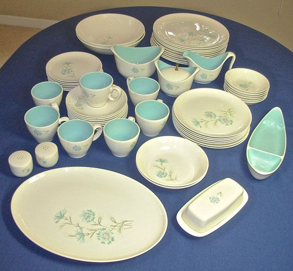 57 Pcs Taylor Smith Taylor China Set EVER YOURS by PorcelainPalace, $160.00