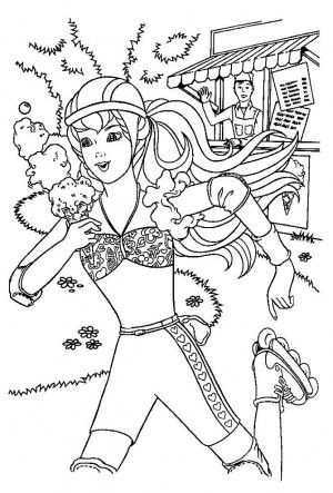 32 best Barbie coloring book images on Pinterest Barbie coloring - copy coloring pages barbie mariposa