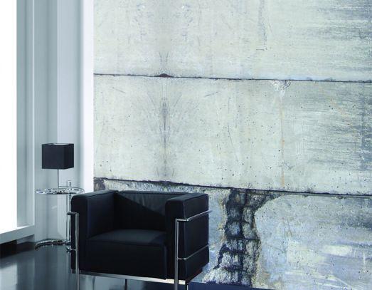 1000 images about faux concrete wallpaper murals for Concrete finish wallpaper