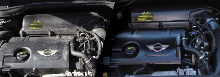 The engine is one of the most over looked potions of the vehicle. An engine degreasing is an important part of detailing if selling your vehicle.
