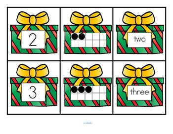 ***FREE*** This is a set of number cards with a Kwanzaa colors theme, 0-10. Three cards for each number - the number, a ten-frame representation, and the number word. Use for recognition, sequence, memory games, hiding and finding games, and of course, matching.