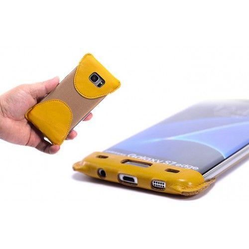Кожаный мешок каркас для Samsung Galaxy S7 Edge   Чехлы для Samsung Galaxy S7 Edge   Интернет-магазин 100gadgets.ru