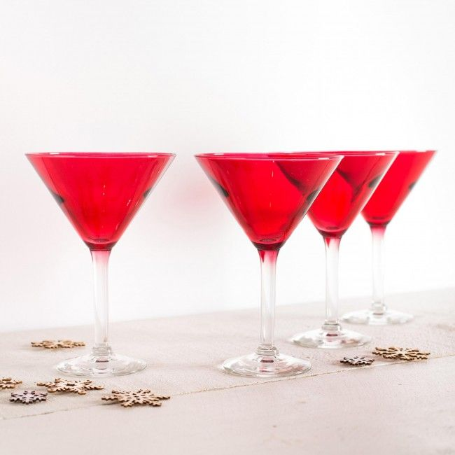 Toast to the season in style! These festive martini glasses are the perfect complement to your seasonal tabletop decor.    Whether you're looking for stocking stuffers, Secret Santa presents, festive Christmas decor or even gift cards, we have a huge selection of unique holiday stuff to make your days and nights merry and bright.