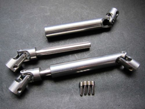 cappu hardened full steel universal drive shafts 1pr