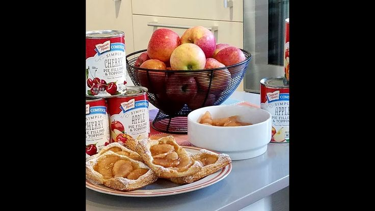 Duncan Hines Comstock® Simply Apple Pie Filling & Topping and Simply Che...