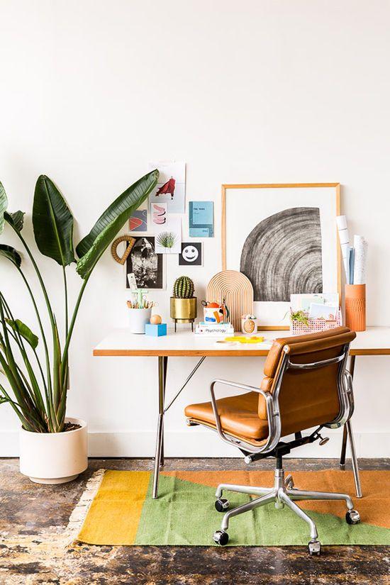desk space styling   designlovefest