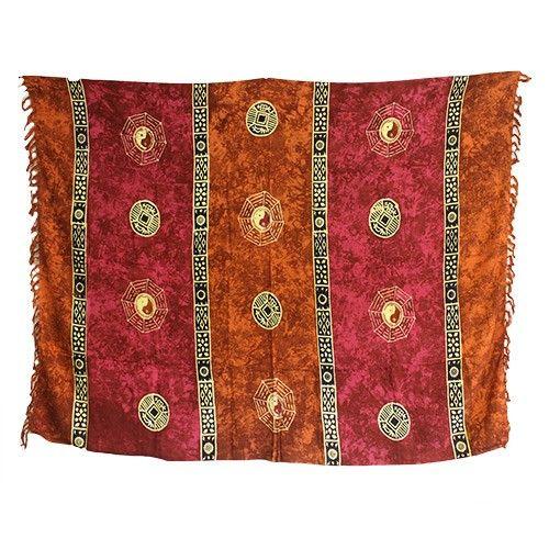 Bali Celtic Sarongs - Yin and Yang #Hip_Angels #Scarves_Wholesaler #Bali #Scarves