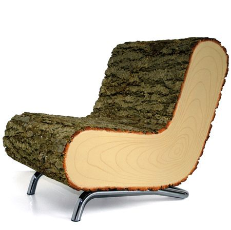 Nature V2.01 by Draw Me a Sheep: Wooden Chairs, Design Products, Trees Trunks, The Great Outdoor, Products Design, Wooden Furniture, Design Studios, Chairs Design, Trunks Chairs