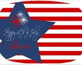 4th of July- Personalized Platter