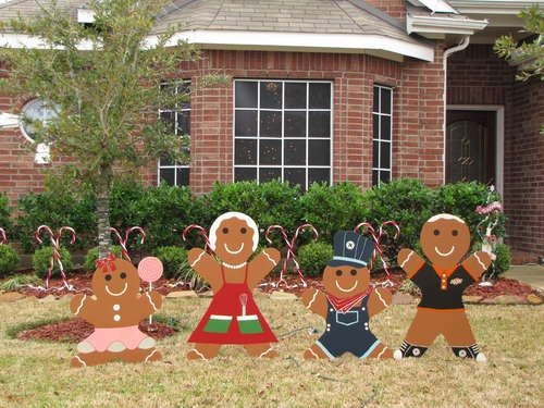 Best diy outdoor christmas decorations images on