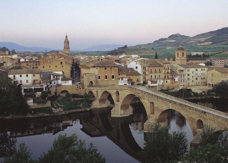 Vista de Estella, Navarra
