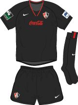 Club Atlas of Mexico away kit for 2003-04.