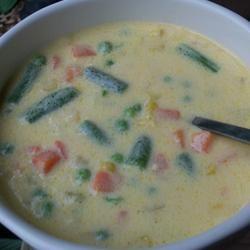 Cheesy Vegetable Soup I Allrecipes.com