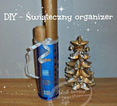 Świąteczny organizer - #DIY #TUTORIAL #HANDMADE #ORGANIZER