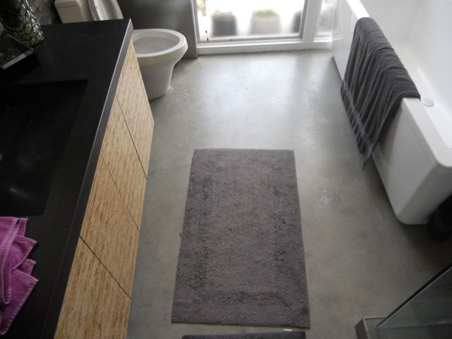 Photo Gallery For Website Grey stained and polished concrete floor
