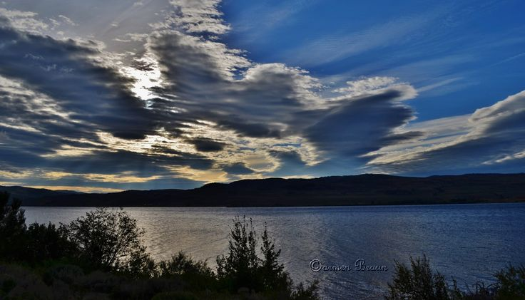 Sunrise at Nicola Lake, Merritt, BC