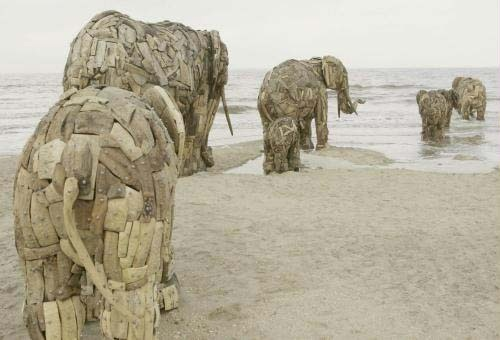 Recycled art South Africa