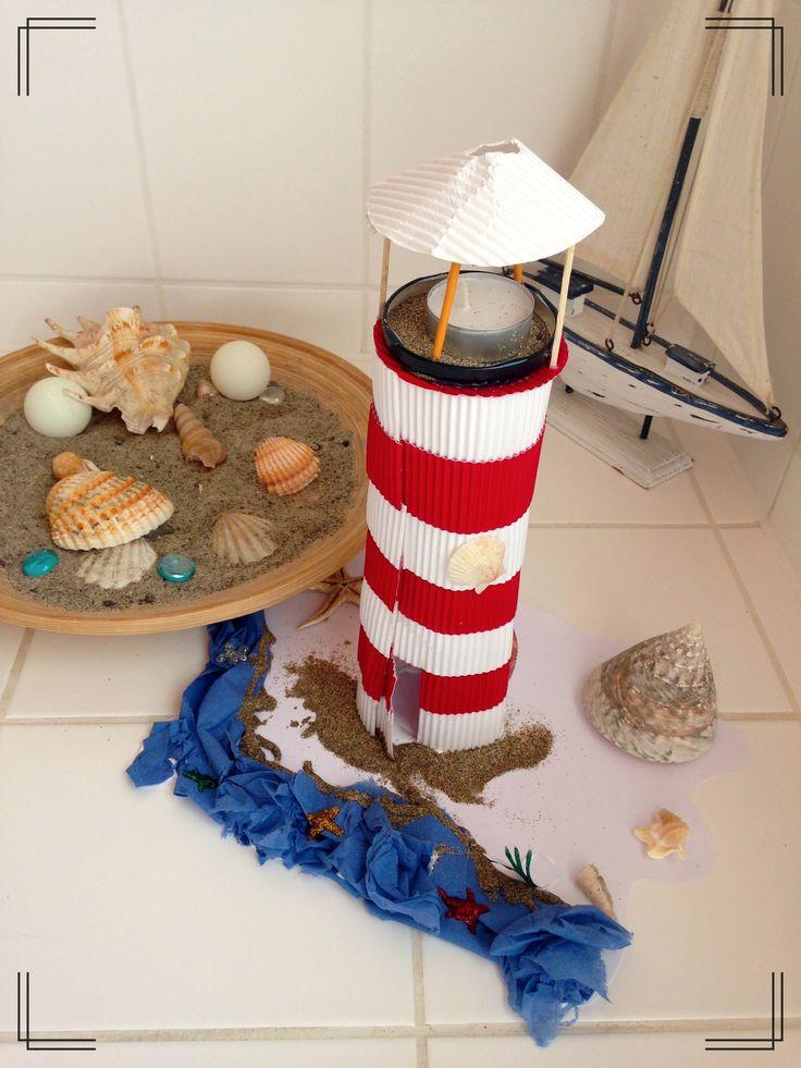 Ber ideen zu leuchtturm basteln auf pinterest for Leuchtturm basteln