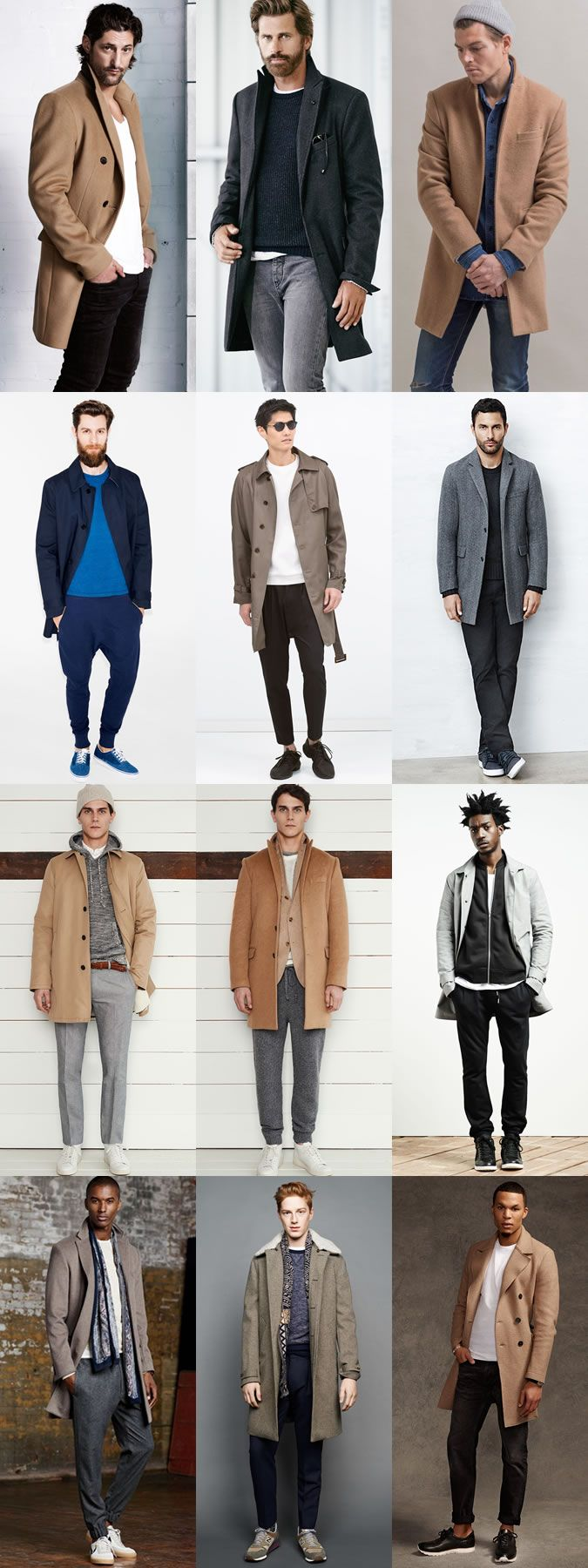 5 Great Combinations on Dressing Up-Dressing Down: 4. Commute Coat & Sunday Uniform Lookbook Inspiration