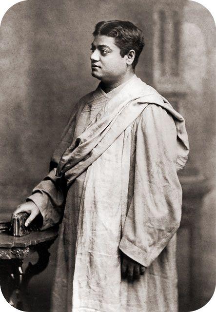 a young Swami Vivekananda
