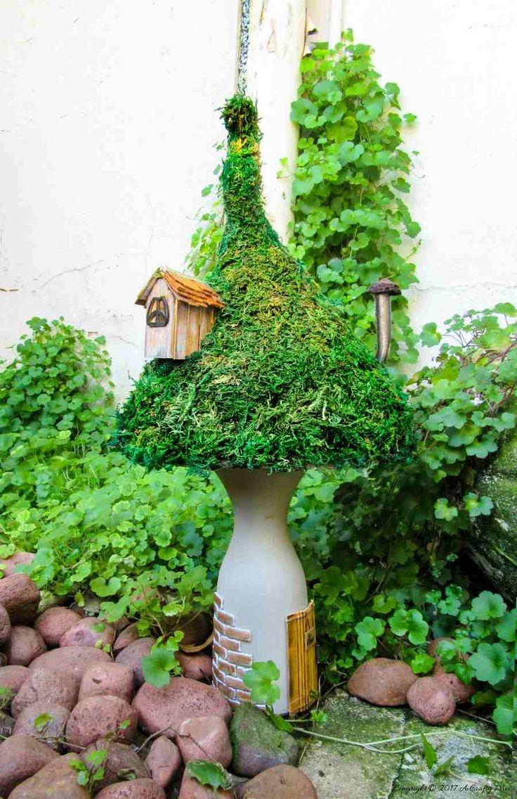 939 best  Teeny Tiny Fairy Gardens images on Pinterest | Fairies garden,  Fairy gardening and Fairy homes