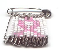 Pink Ribbon Pin - really like!