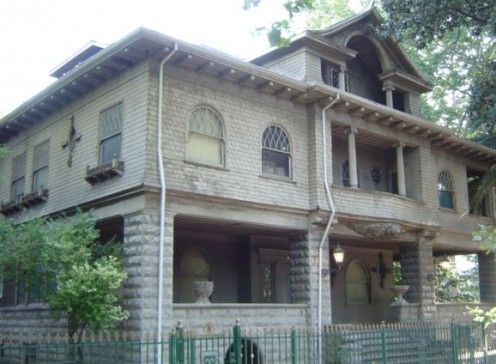 The local haunted house