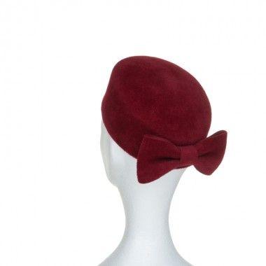 Chapeau, tambourin de cérémonie Carla de Mademoiselle Chapeaux, fabriqué en France pour les cérémonies et mariages