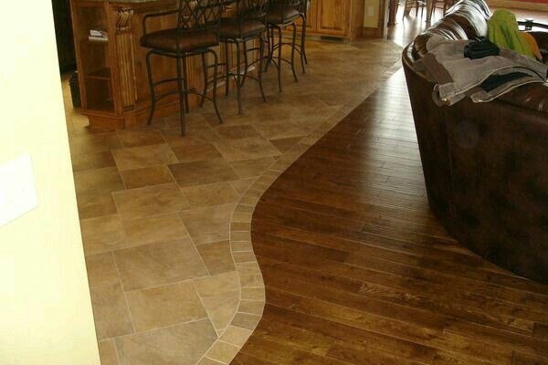 Love The Irregular Floor Edging Hardwood Flooring Ideas