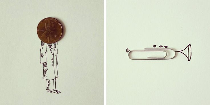 Art Director Javier Pérez Turns Everyday Objects into Whimsical Illustrations illustration humor