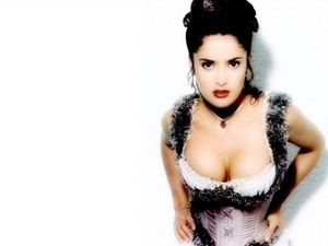 "Photos of Salma Hayek, one of the hottest girls in movies and TV. There are few women out there as sexy and talented as Salma Hayek. Hot - or should I say Caliente - is her middle name. Salma first came to America's attention starring in ""Desperado"" opposite Antonio Bandaras. She has sinc..."