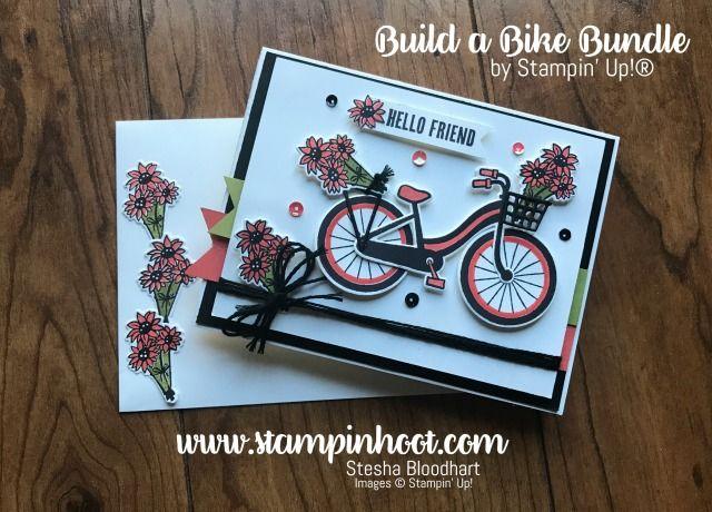 Take a Bike Ride to Global Design Project 089, https://stampinhoot.com/2017/06/take-bike-ride-global-design-project-089/, #Bike-Ride-Photopolymer-Bundle, #Global-Design-Project, #Stampin-Hoot, #Stampin-Up-New-20172018-Annual-Catalog, Stampin' Hoot , Stesha Bloodhart