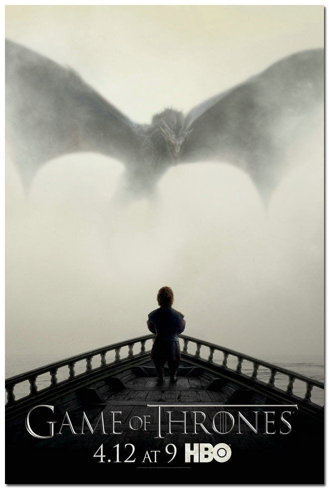 Game Of Thrones ''Dragon'' Poster