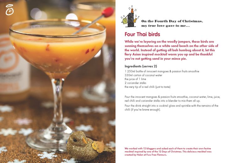 On the Fourth Day of Christmas, my true love gave to me...Four Thai Birds