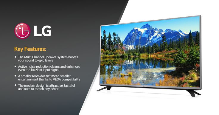 "Win a brand new LG 43"" Full HD Television"