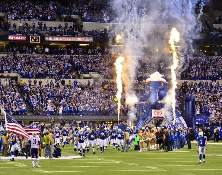 """Lucas Oil Stadium Indianapolis Colts Adhesive Wall Graphic (24""""x36"""")"""
