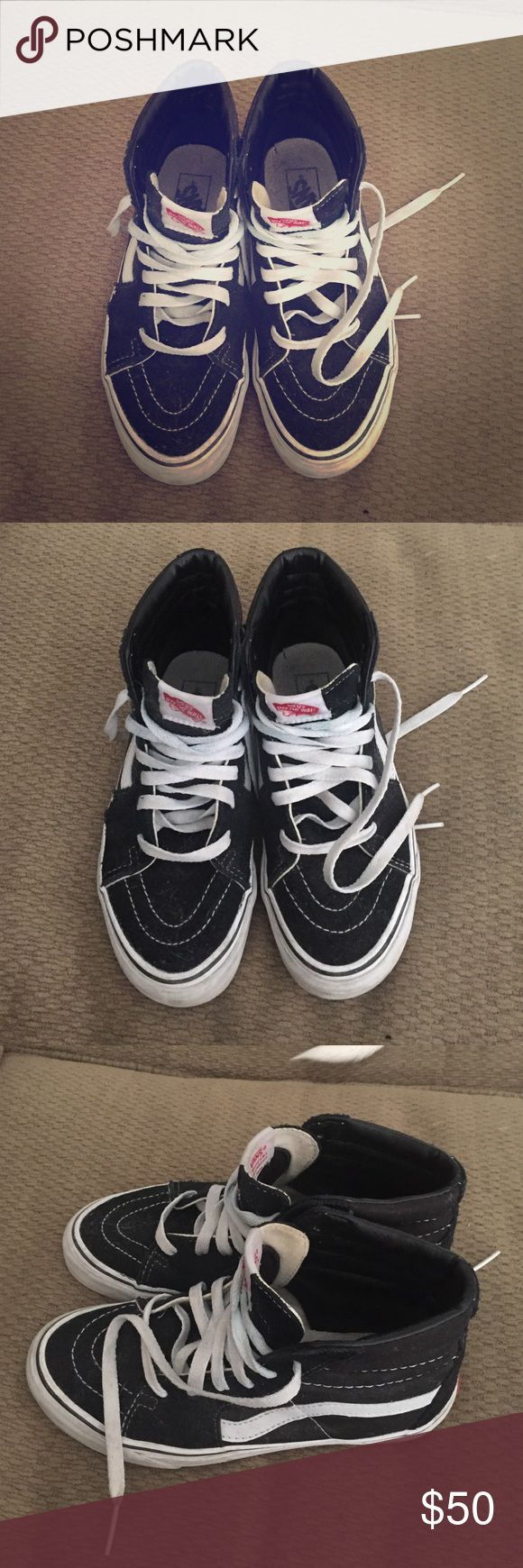 Vans girls skate highs Great condition worn a few times! Vans Shoes Sneakers