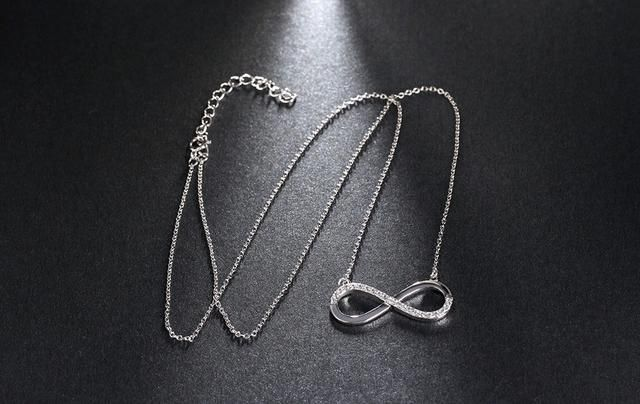 In case you missed it, here you go 🙌 Infinity Pendant Platinum Plated Necklace  http://www.surpriceme.com/products/infinity-pendant-platinum-plated-necklace?utm_campaign=crowdfire&utm_content=crowdfire&utm_medium=social&utm_source=pinterest #jewelry #necklace #