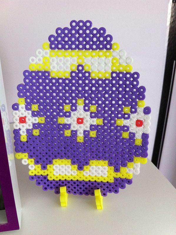 Easter egg hama perler beads by shakotte