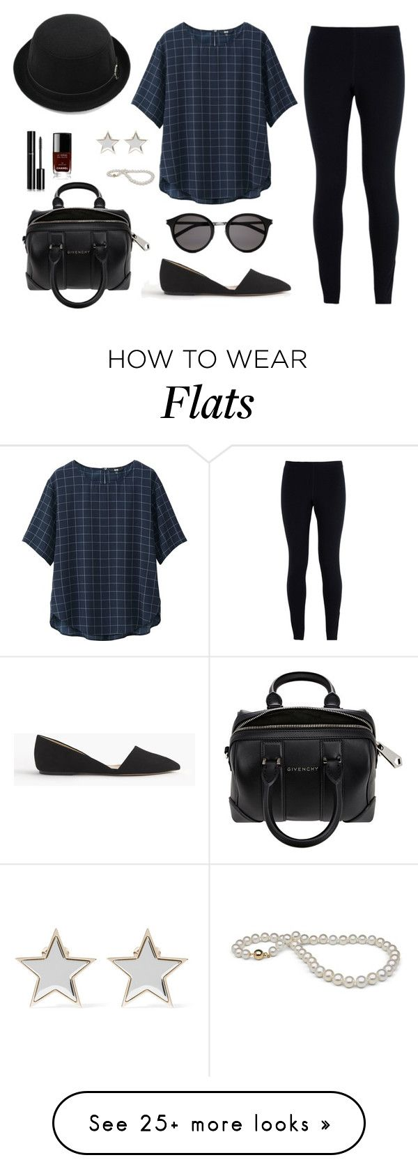 """""""Untitled #192"""" by lirazmiz on Polyvore featuring Uniqlo, NIKE, J.Crew, Yves Saint Laurent, Givenchy, Chanel, women's clothing, women, female and woman"""