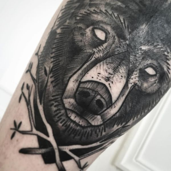 Great Bear Tattoo Designs - The ferocious nature of grizzly bears has always inspired people. On the one hand, these animals instill chilling fear by the only appearance. On the other hand, bears are incredibly tender and caring with their …
