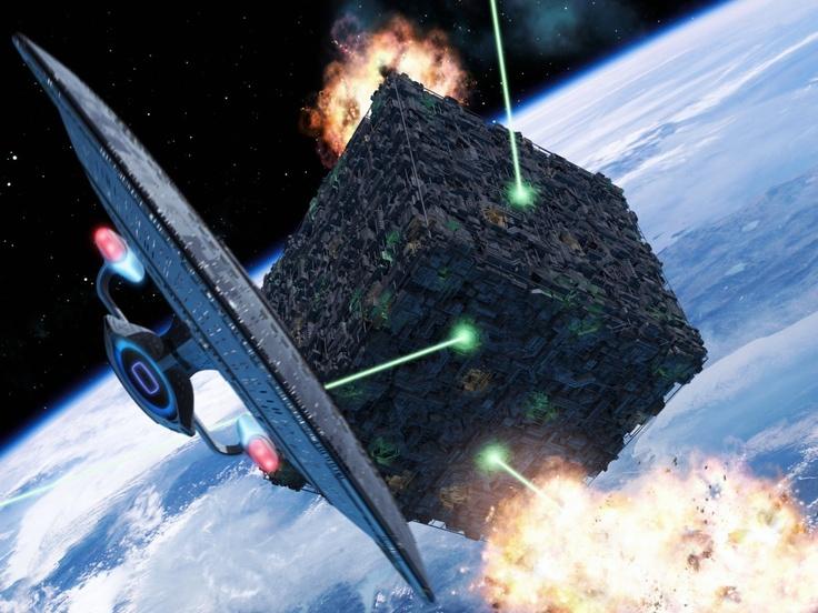 The Borg vs The Enterprise