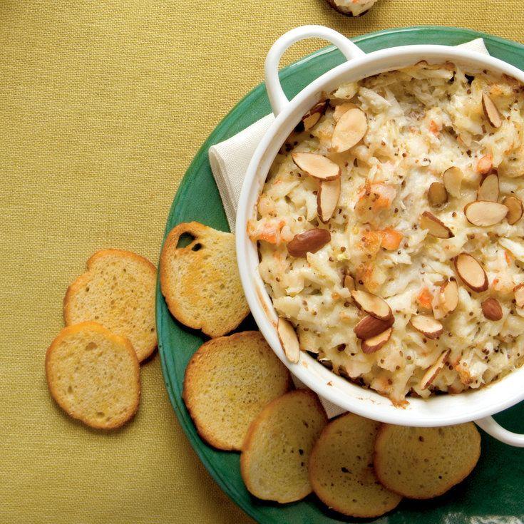 Hot Crab and Shrimp Dip - Best Party Appetizer Recipes - Coastal Living