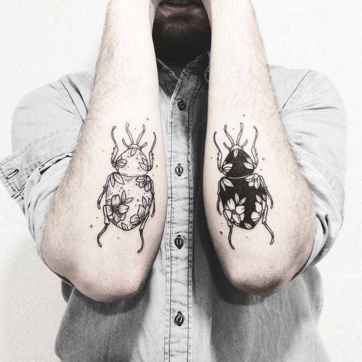 """1,882 aprecieri, 3 comentarii - Fer Solley (@sollefe) pe Instagram: """"A veces toca tatuar a la familia 🐞✨ Para tatuajes botánicos, cursos y colaboraciones manden un…"""""""