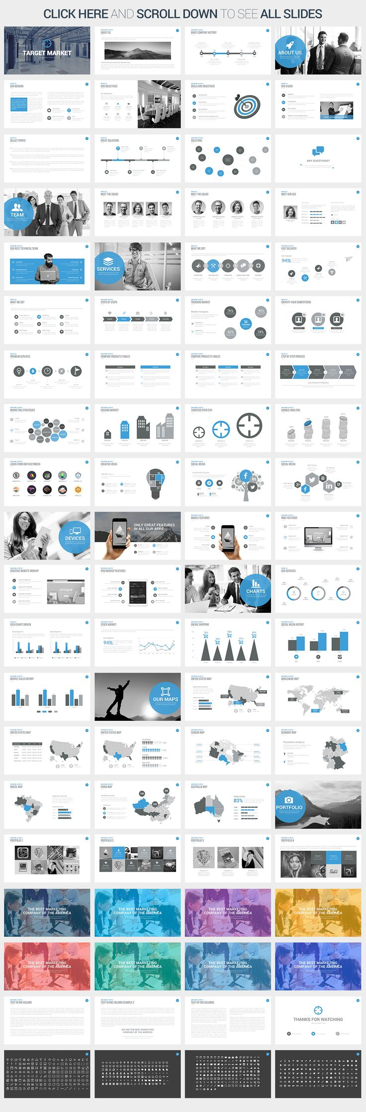 42 Best Best Powerpoint Templates Images On Pinterest | Keynote