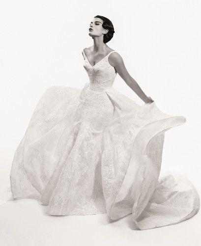 Truly Zac Posen Tank Bonded Lace Wedding Dress At David S