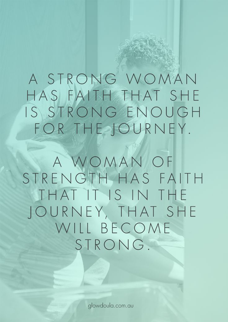 Sometimes the strength to finish the journey doesn't come until the journey has already begun.  #inspiration #quotes #pregnancy