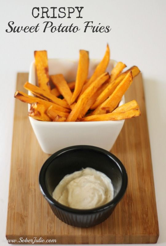 Perfect Crispy Sweet Potato Fries with the Philips Airfryer - Sober Julie