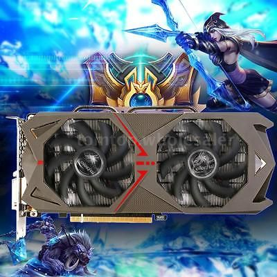 ﹩335.99. Colorful 3072M 3G 192bit Video Graphics Card NVIDIA GeForce GTX 1060 GDDR5   GPU - Geforce GTX 1060, Core structure - GP106, Core technology - 16nm, CUDAs stream processors - 1152, Base clock (MHz) - 1506, Boost clock (MHz) - 1708, Memory clock (MHz) - 8008, Standard memory config - 3GB GDDR5, Memory interface width - 192-bit, Multi-projection - Yes, VR Ready - Yes, 3D API - Direct X 12.1, OpenGL - 4.5, Bus Support - PCIe 3.0, Maximum digital resolution - 7680*4320@60Hz, D